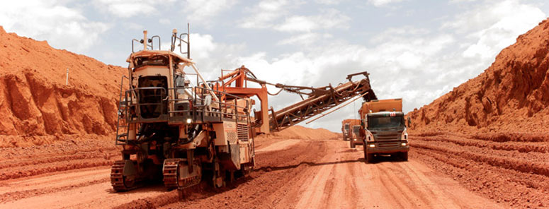 The Process of Mining Bauxite